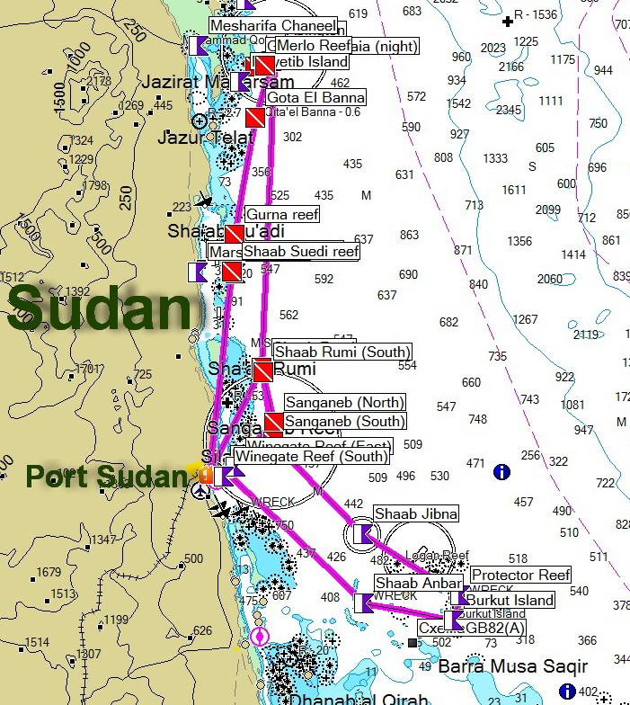 дайв сафари Судан