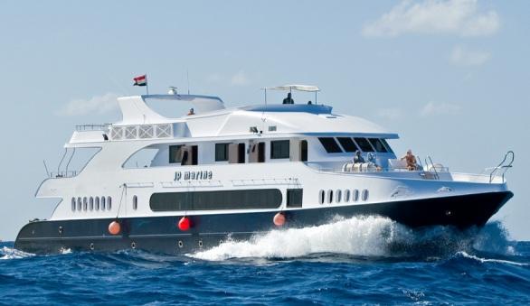 дайвинг сафари египет M/Y JP Marine